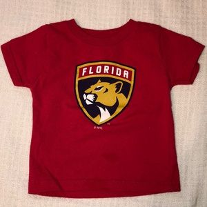 Other - Florida Panthers Hockey Shirt 24 Months